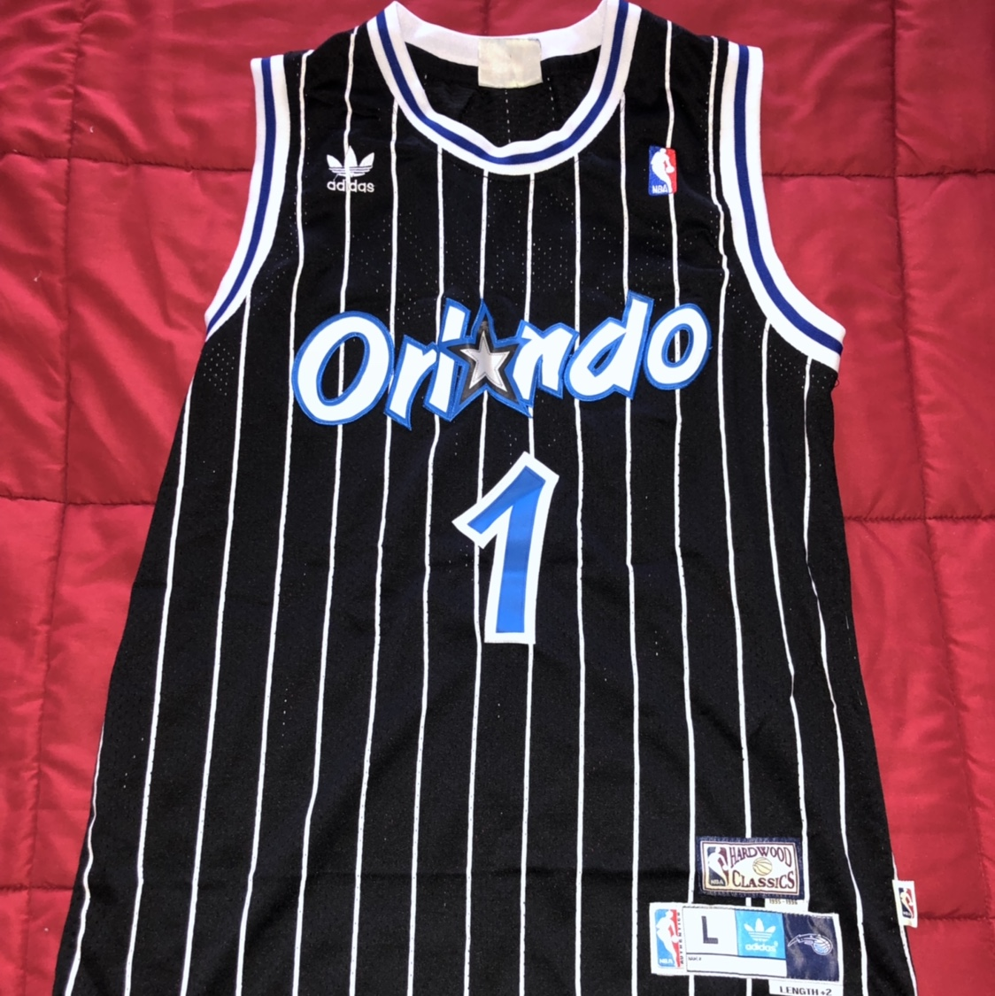 best loved 27ff9 ff10e HARDWOOD CLASSIC Orlando Magic tmac Jersey. worn a ...
