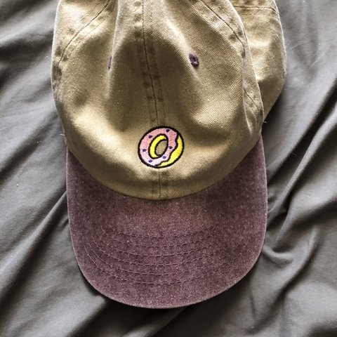 ac3fcf645b42 Odd future donut style hat. Great condition only worn about - Depop