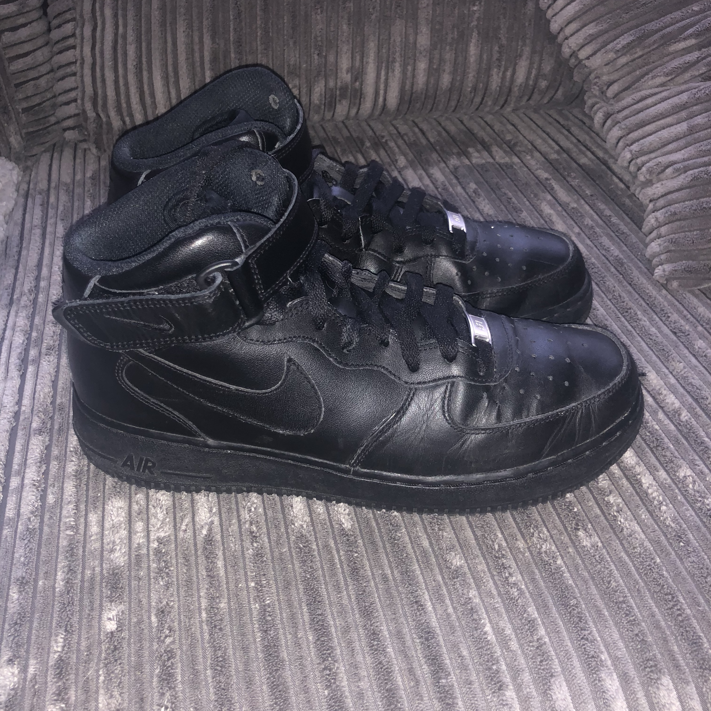 nike high top with velcro strap