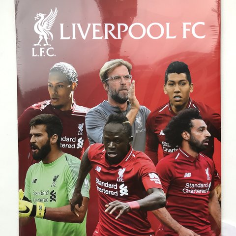 48901aeb7 Official Liverpool Football Club 2019 calendar