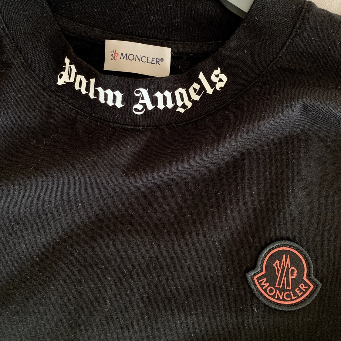 palm angels x moncler tee