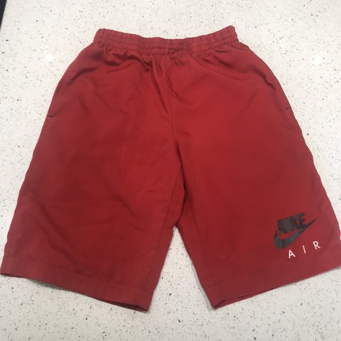 2a48dc8a6db Nike shorts Red Nike shorts Age 12-13 years Condition - Depop