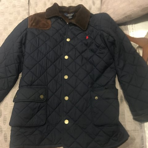 9345756ca 100% genuine polo Ralph Lauren boys jacket. It's a classic a - Depop