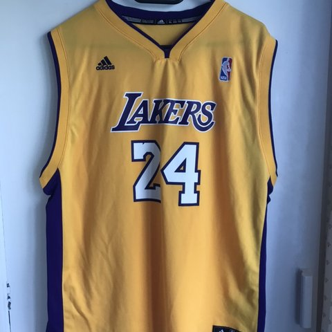 8b461ca74 @bwilliams24. 2 months ago. Forres, United Kingdom. Adidas/Los Angeles  Lakers jersey. Number 24- Kobe ...