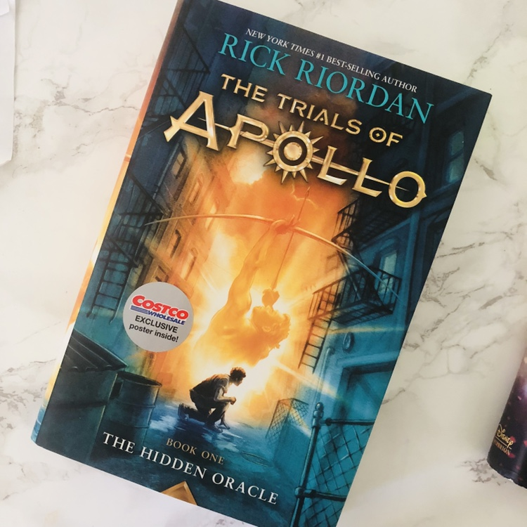 Trials of Apollo Books 1 & 2 (posters NOT included)    - Depop