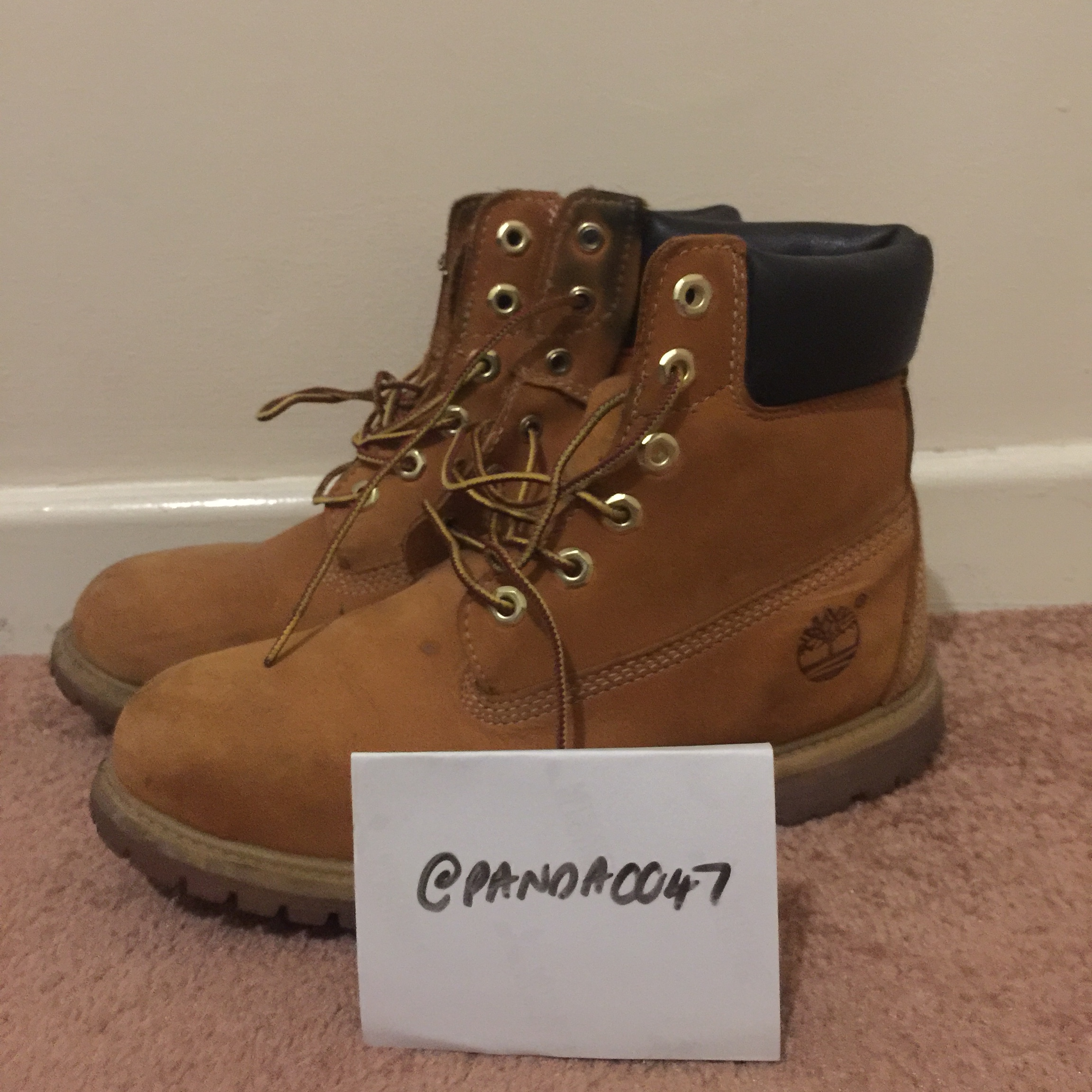 Timberland Old School Shoe, WORN. (OPEN TO OFFERS) Depop