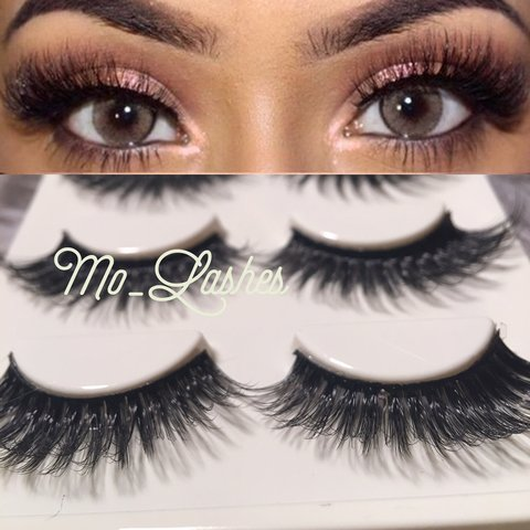 19276874baa ~Real Mink Lashes! ~Long, Dramatic and Flirty! ~Perfect for - Depop