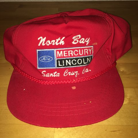 5b0fa4445b20e4 Vintage NORTH BAY MERCURY LINCOLN SANTA CRUZ, CA #soft - Depop