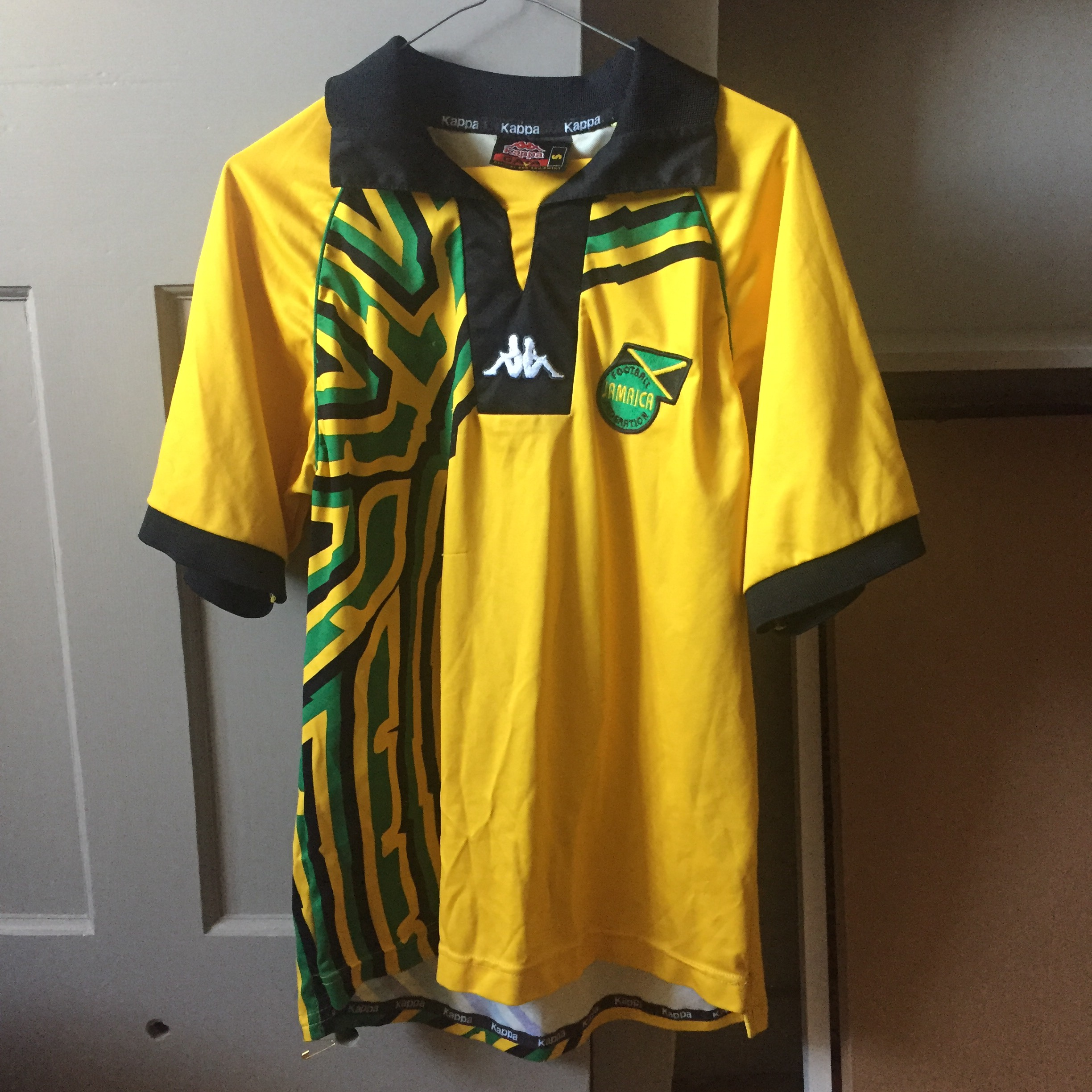 online store a1e03 685b4 Jamaica World Cup 1998 Shirt, Size S, One of the... - Depop