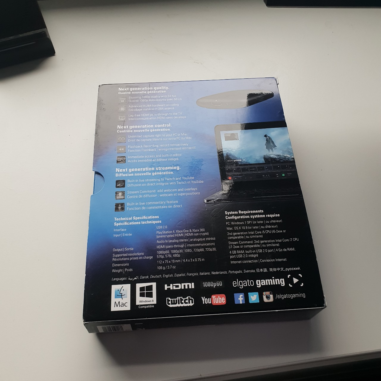 Elgato HD60 Game Capture for Xbox One, PS4 and    - Depop