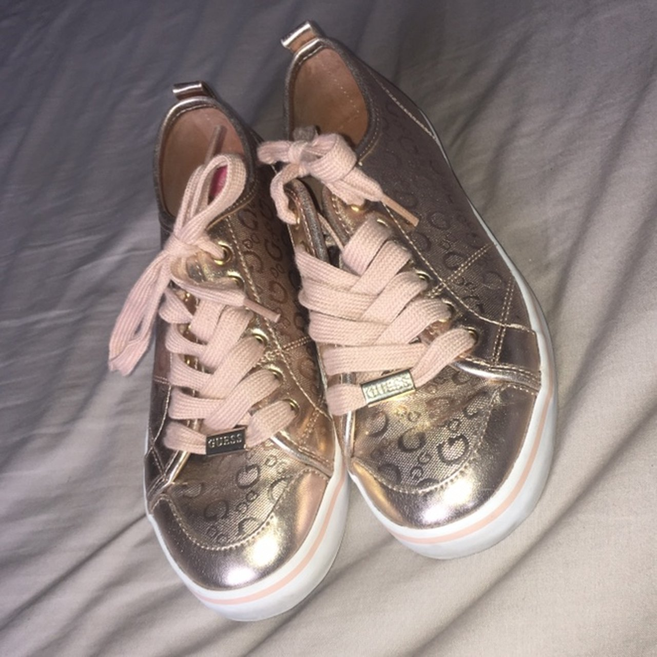 Authentic Guess rose gold shoes Bought