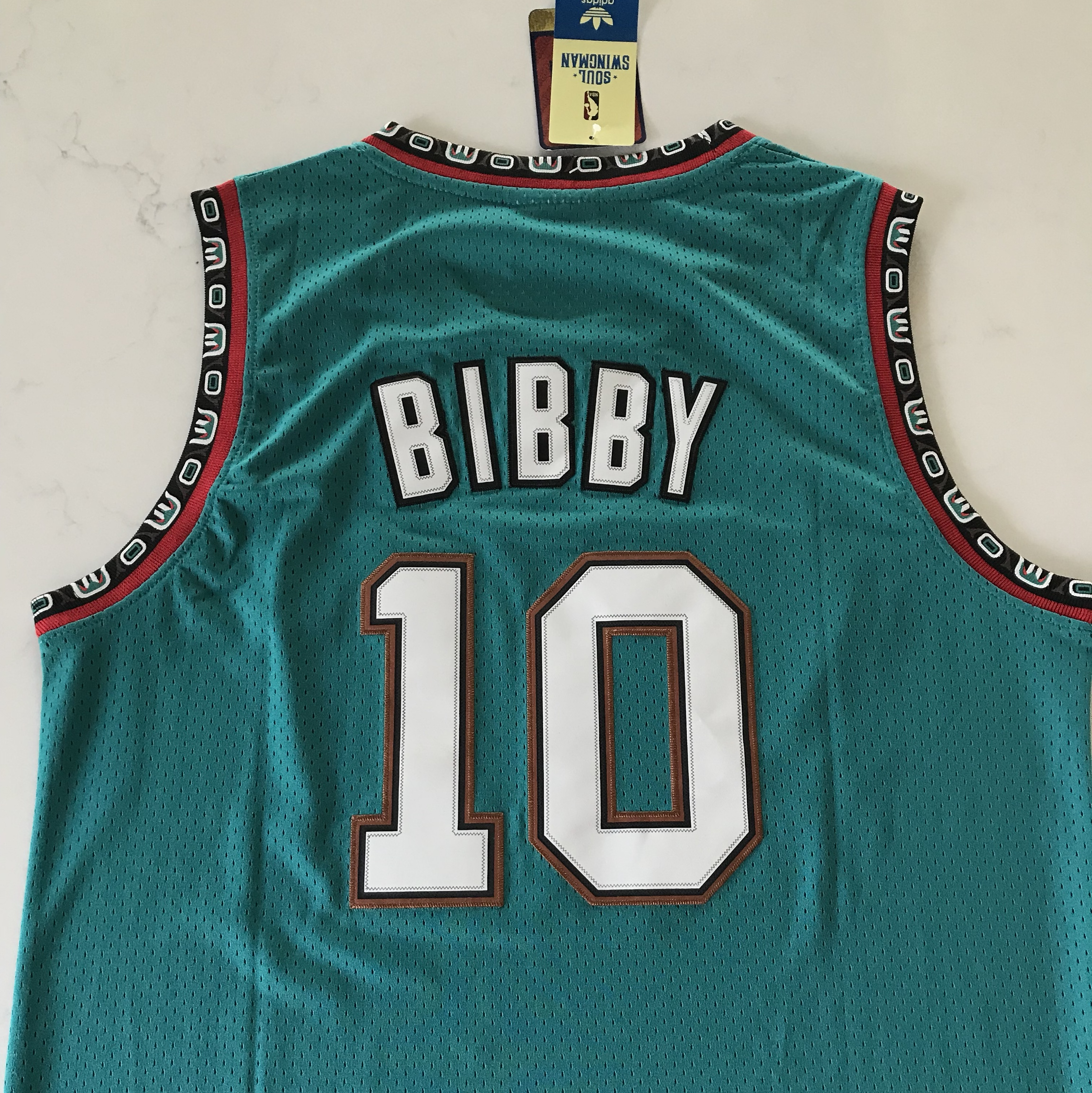 free shipping b3a93 a0dc4 Mike Bibby Vancouver Grizzlies Throwback Jersey... - Depop