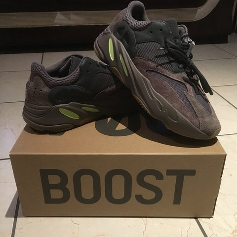 c8392bc88526b Fresh Brand new Adidas Yeezy 700 Mauve. Sold Out at 10.5 11 - Depop