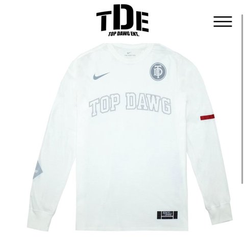 eefd6f2b @elvias. last month. Los Angeles, United States. Original price is $55.  Brand new TDE long sleeve t-shirt ...
