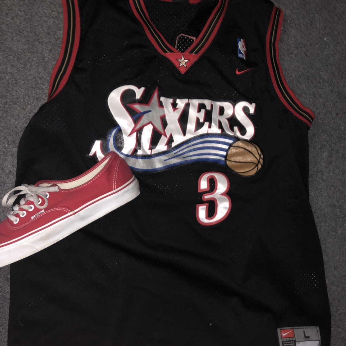 SIXERS JERSEY AS SEEN ON RAPPER BLUE FACE BABY