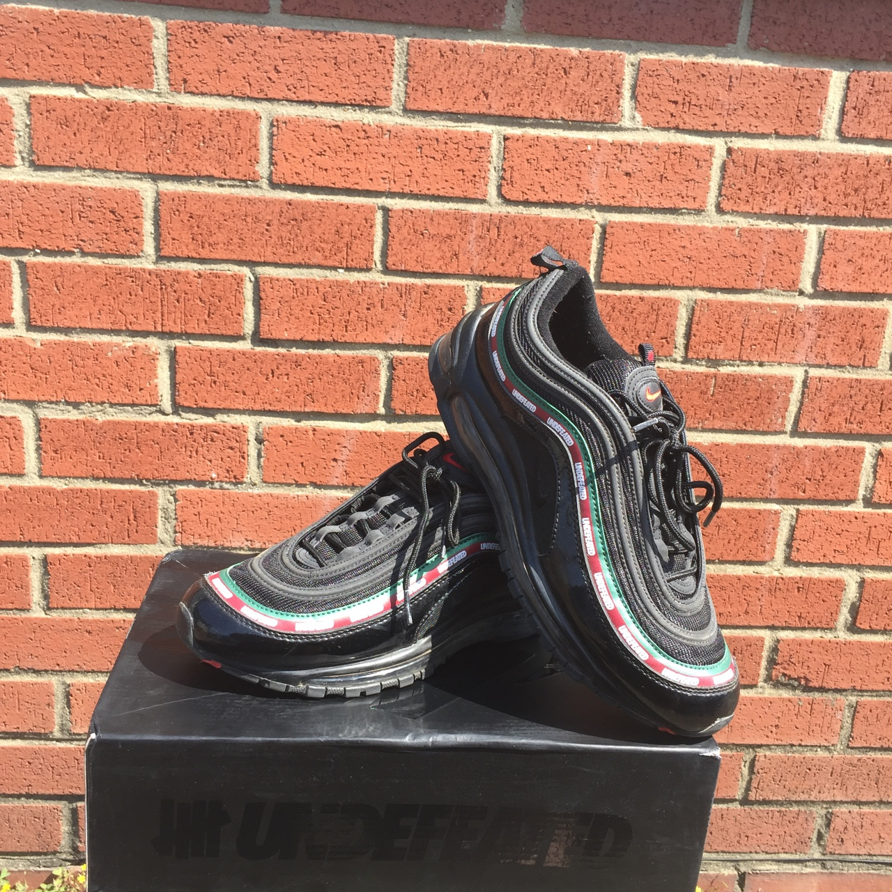 Nike Air Max 97 Undefeated Size 8 Depop