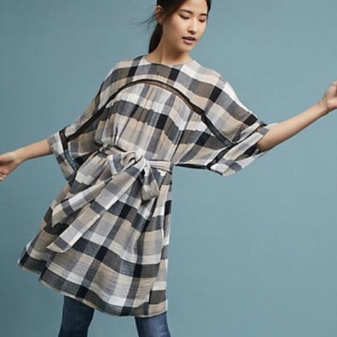 fe0913bae847 @beatat. FollowingFollow. 11 days ago. Norwell, United States. Maeve Tie- Waist  Kimono Tunic Dress size M
