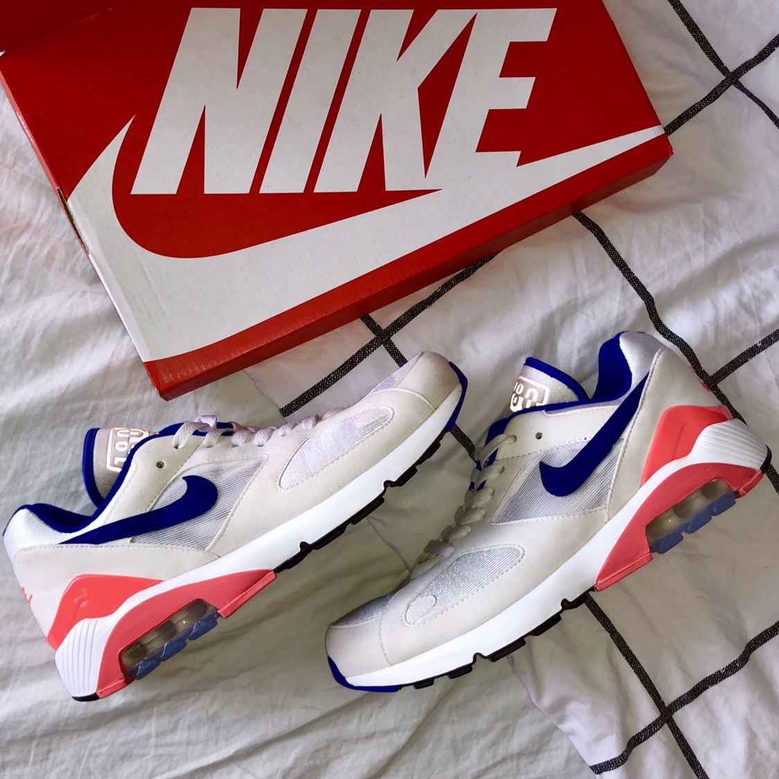 Nike Air Max 180 OG Ultramarine 2018 US Men's Depop