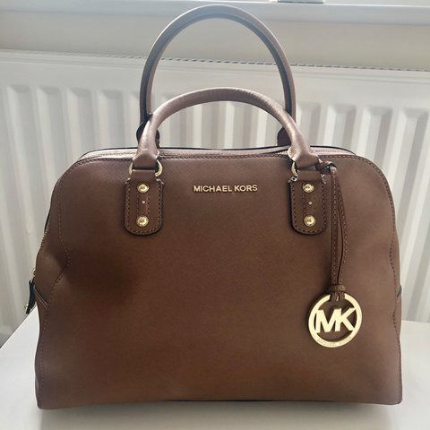 1f6dcf68e9e5 @dep0pdani. 5 days ago. Birmingham, United Kingdom. Genuine Ladies Michael  Kors Tan Leather Handbag.