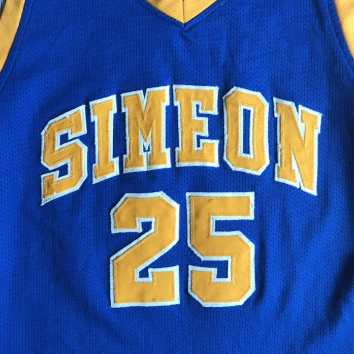 new products ce8b0 42e33 Vintage Derrick Rose Simeon High School 25 Jersey... - Depop