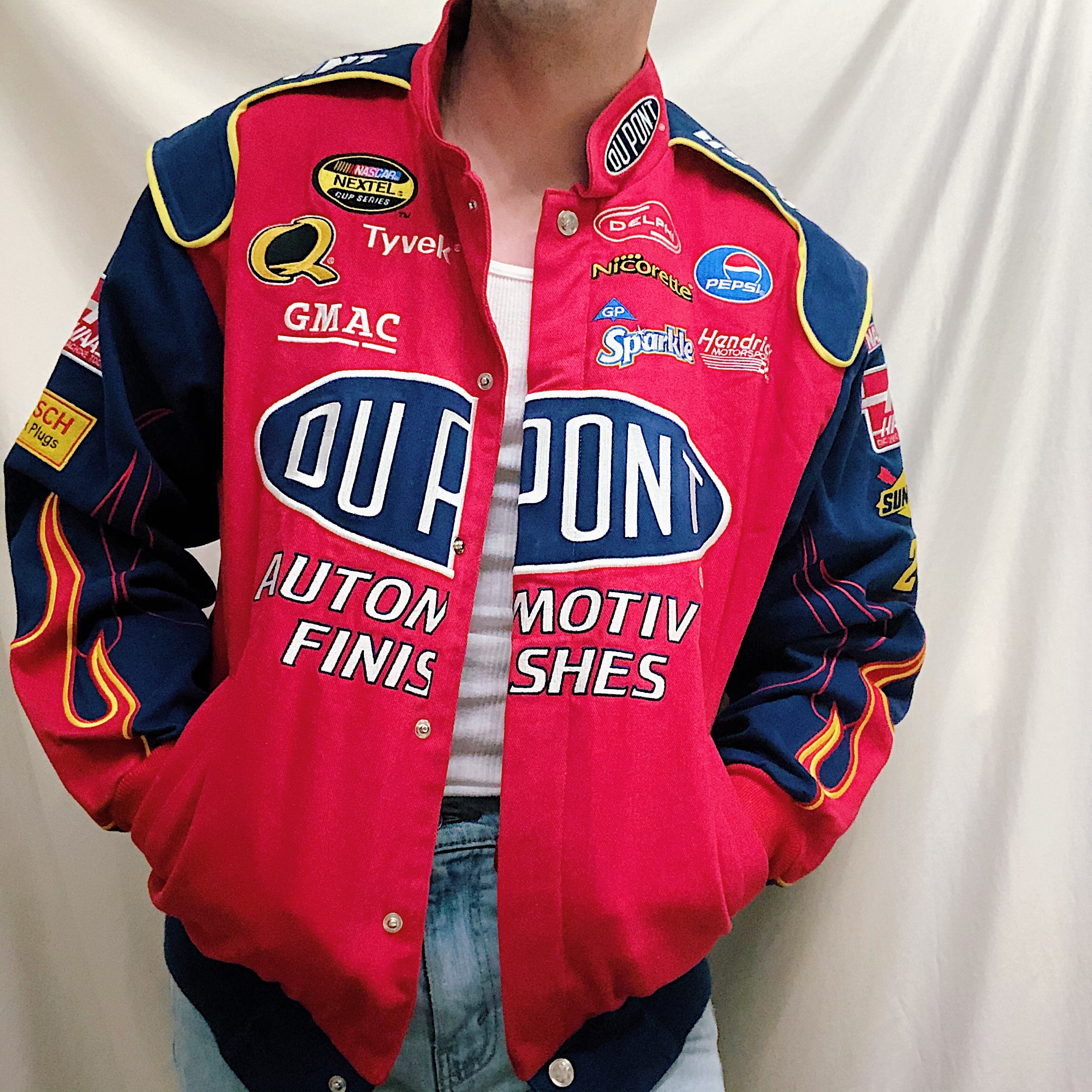 Men S Vintage Jeff Gordon Dupont Nascar Racing Depop