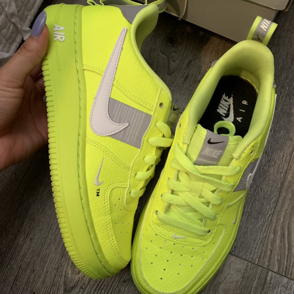 Air Force 1 LV8 Utility (GS) Size 4Y Which is a Depop