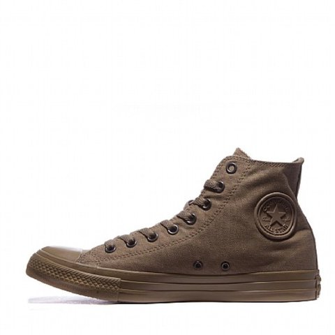 678eca16dcfd0f Converse Chuck Taylor All Star Mono High Trainers in Olive - - Depop