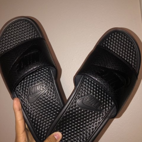 f27e538d0b3a Brand new Nike slides! Worn once! No low ballers please! - Depop