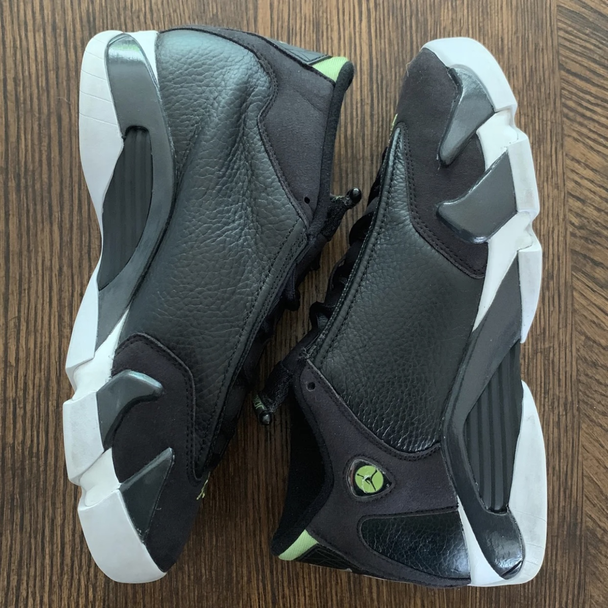 cheap for discount aa8df 8892a Air Jordan Retro 14 'Indiglo' Sneakers Classic Air... - Depop
