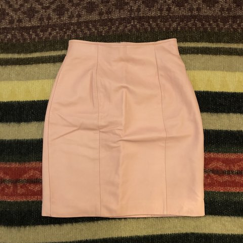4429471d8 @haighterhoneycash. 7 months ago. Concord, United States. The sweetest baby  pink vintage leather skirt!