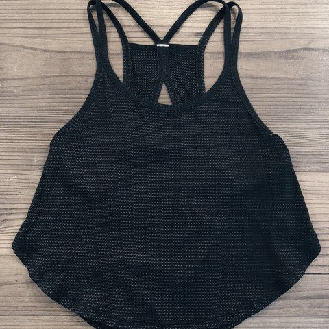 ecfd09dc88c3ae LULULEMON CROP TOP SIZE- 2 CONDITION- GREAT BARELY WORN - Depop