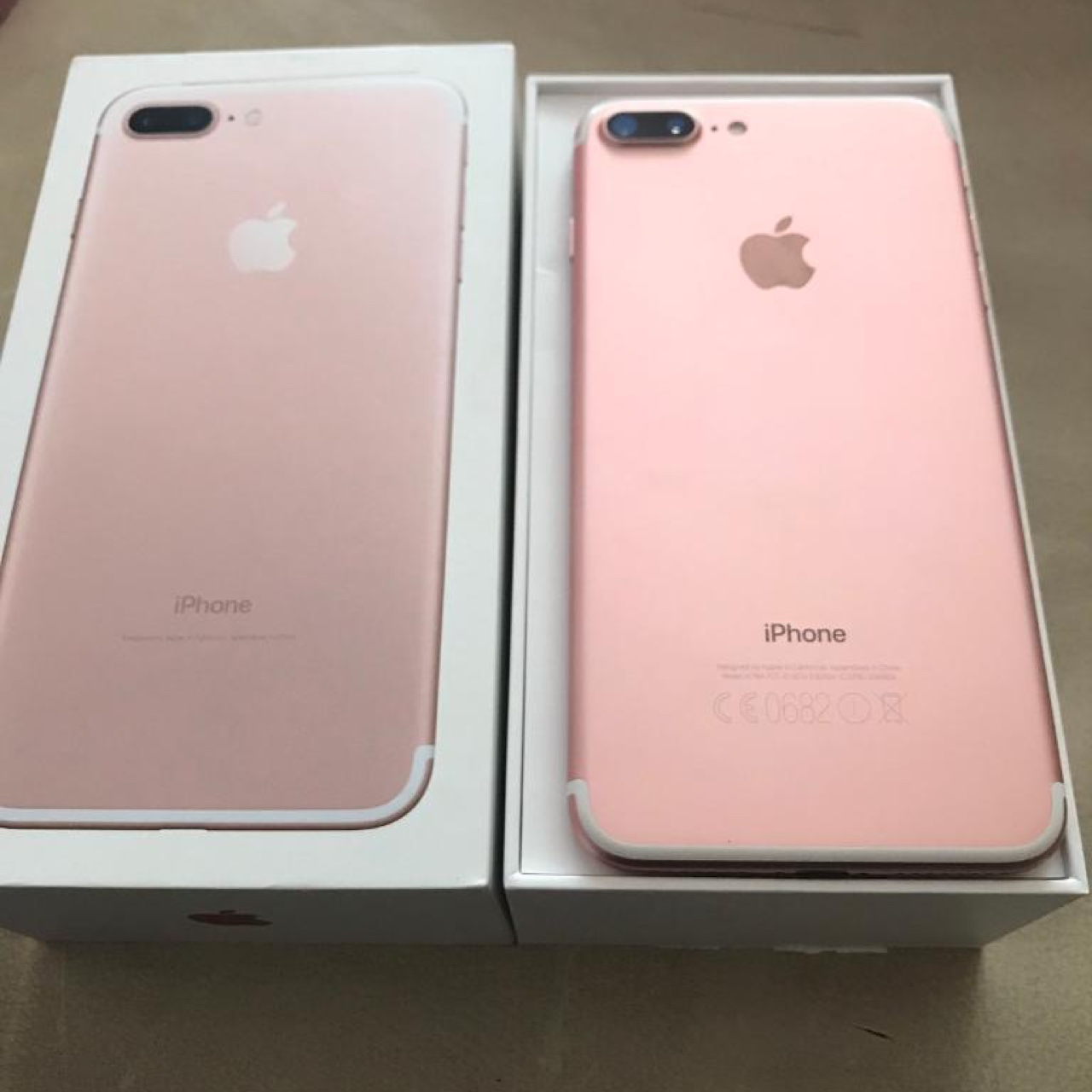 Brand new iPhone 7 plus rose gold 256 GB. Price is , Depop