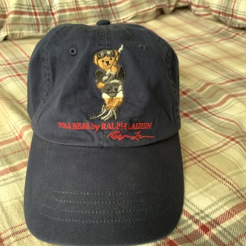 f26aac937 Polo bear hat Barely worn in perfect condition Adjustable - Depop