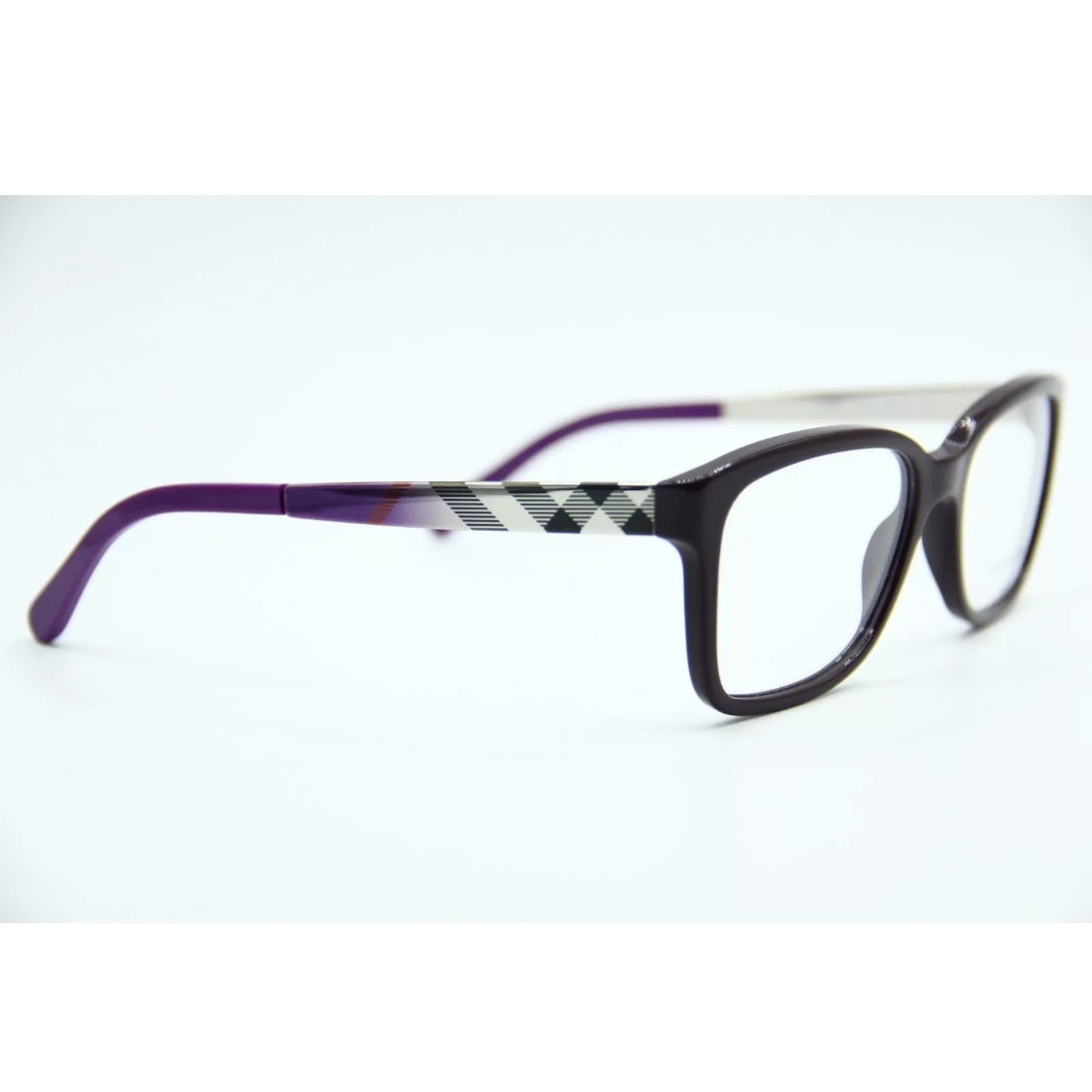 878c0f264974 NEW BURBERRY B 2143 3400 PURPLE AUTHENTIC EYEGLASSES... - Depop