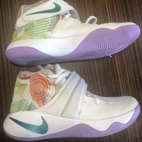27aa34013e8 Nike Kyrie 2 Easter White Hyper Jade-Urban Lilac-Bright HAVE - Depop