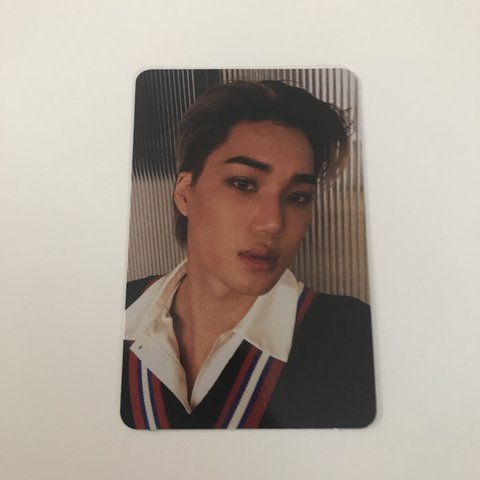 Exo Don T Mess Up My Tempo Kai Photocard Pulled From Depop