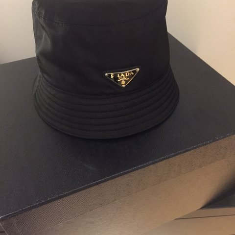 9d4b3213a1a Prada Bucket Hat. Sold out Everywhere. Never Worn. Comes the - Depop