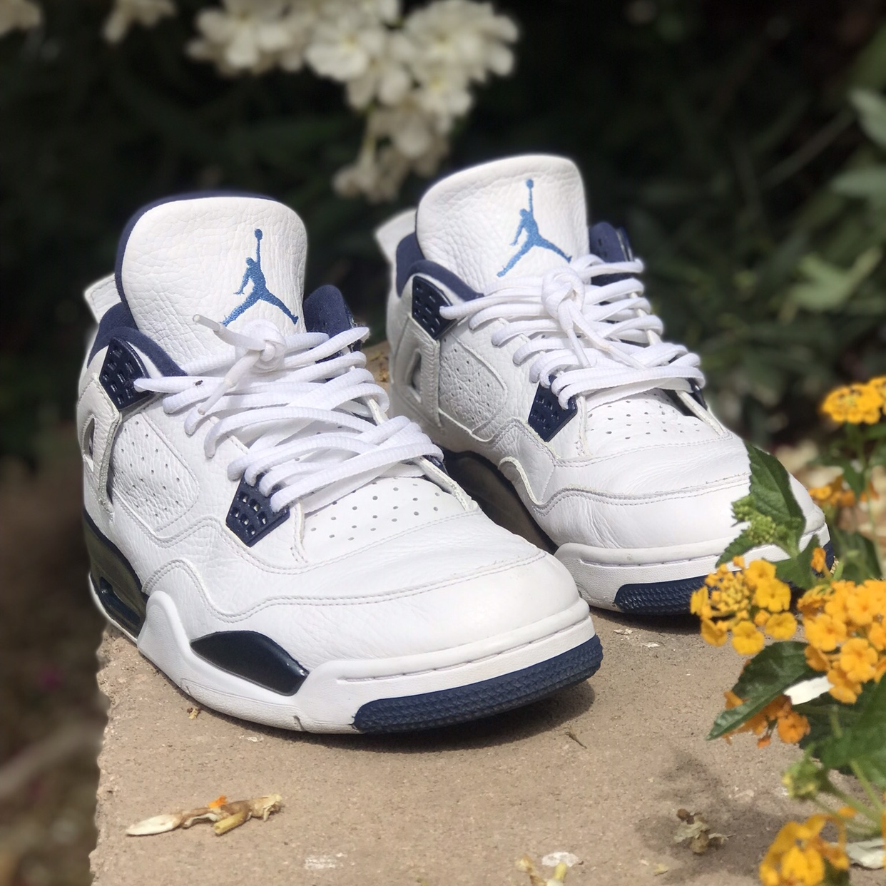 size 40 a0ee2 be23f Authentic Nike Air Jordan Retro 4 Colombia... - Depop