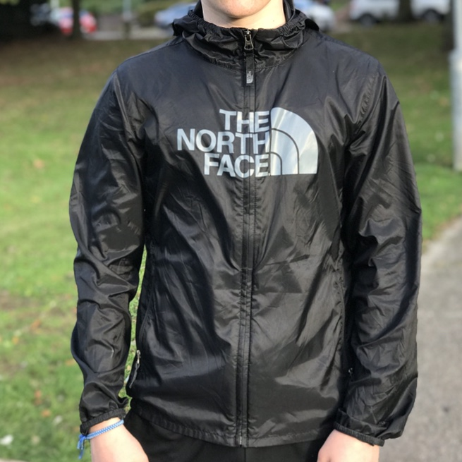 4d8a1c322 🎒The North Face Junior Windwall Jacket🎒 🎒Size Large... - Depop