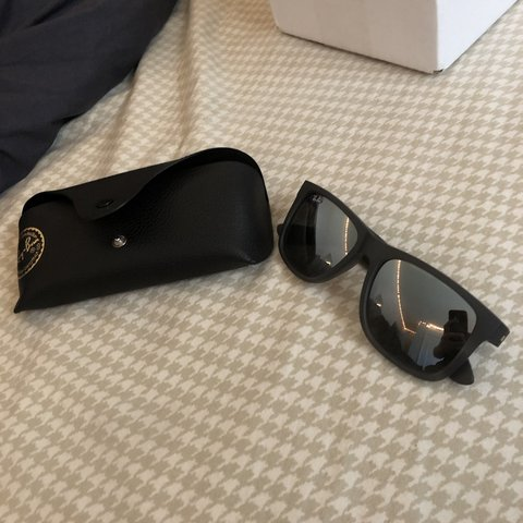 55e208be7 BRAND NEW* Ray-Ban JUSTIN sunglasses RB4165 852/88 55mm - Depop