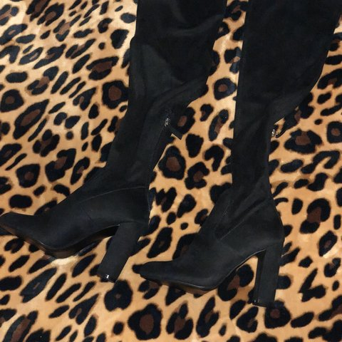 a8acc94c5bd Steve Madden thigh boots Brand new never worn Will come box - Depop