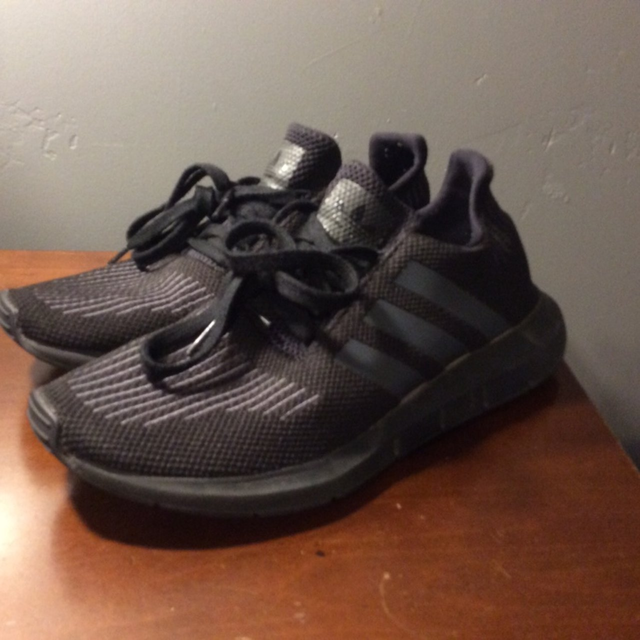 3010f64d6791 Adidas Shoes Color~black great condition