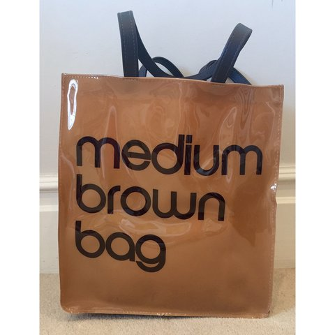 8e7a64e5b0 Bloomingdales Medium Brown bag from New York. Never used in - Depop