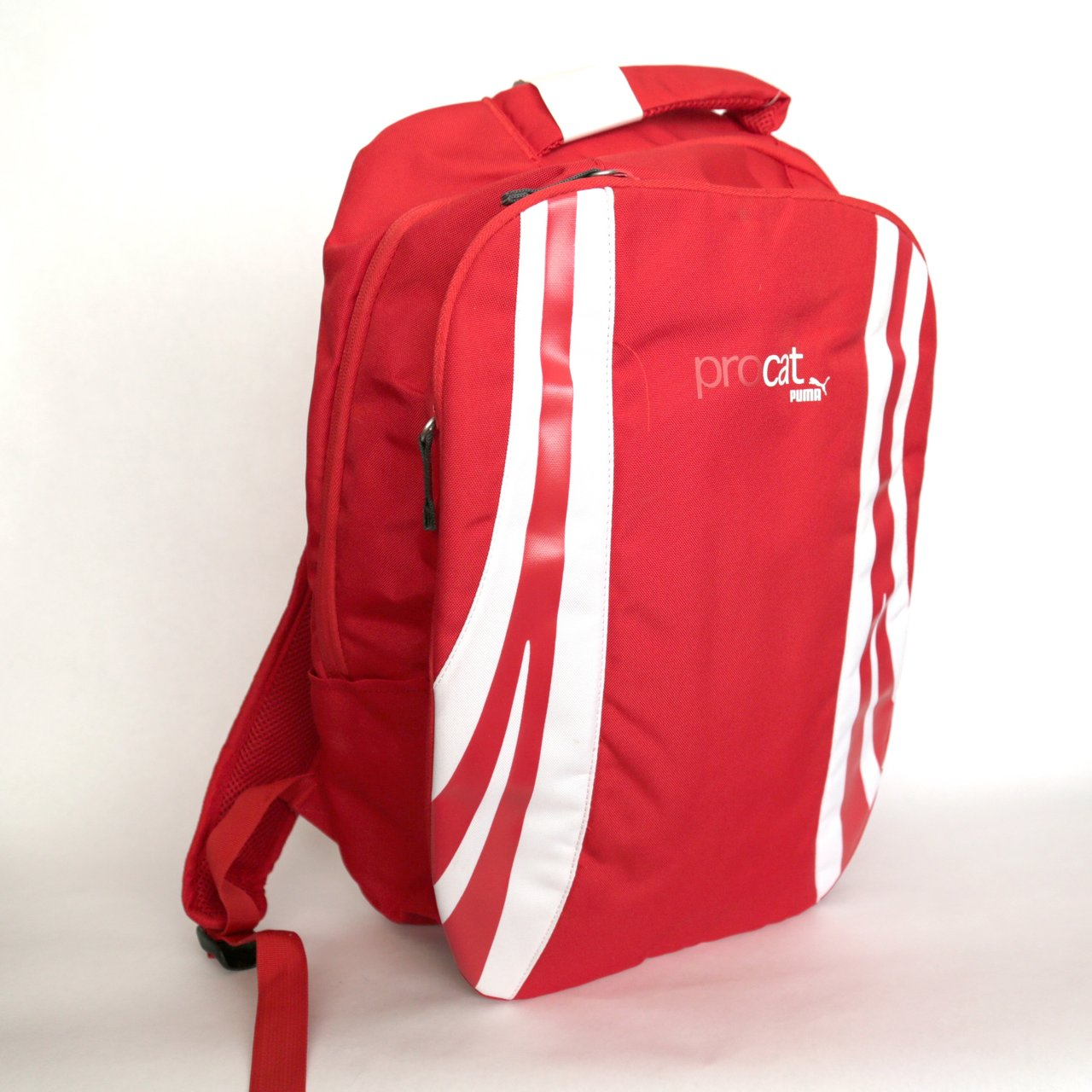d84f266aed NWT red puma pro cat backpack. available for pick up from or - Depop