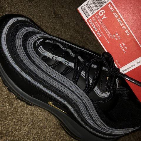c97fc53095 Air Max 97 BG •NEVER BEEN WORN BEFORE (just bought them 6 in - Depop