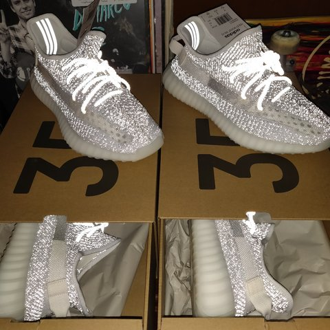 9fc60529d DEADSTOCK YEEZY BOOST 350 V2 STATIC REFLECTIVE both pairs - Depop