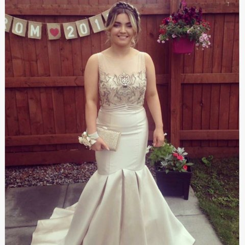 bd989c10b54 My stunning prom dress from stardust boutique Only 5 of in - Depop
