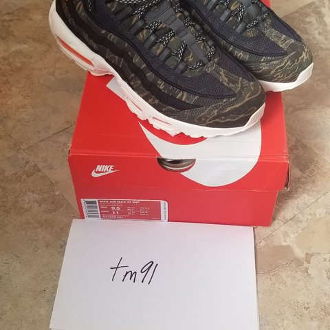f7124d93b3ea5 @taiki_m. 4 months ago. Pasadena, California, US. Nike Air Max 95 Carhartt  WIP 'Black Sail & Total Orange'