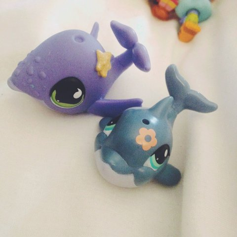 Littlest Pet Shop Lps Whale And Dolphin Please Message Me Depop