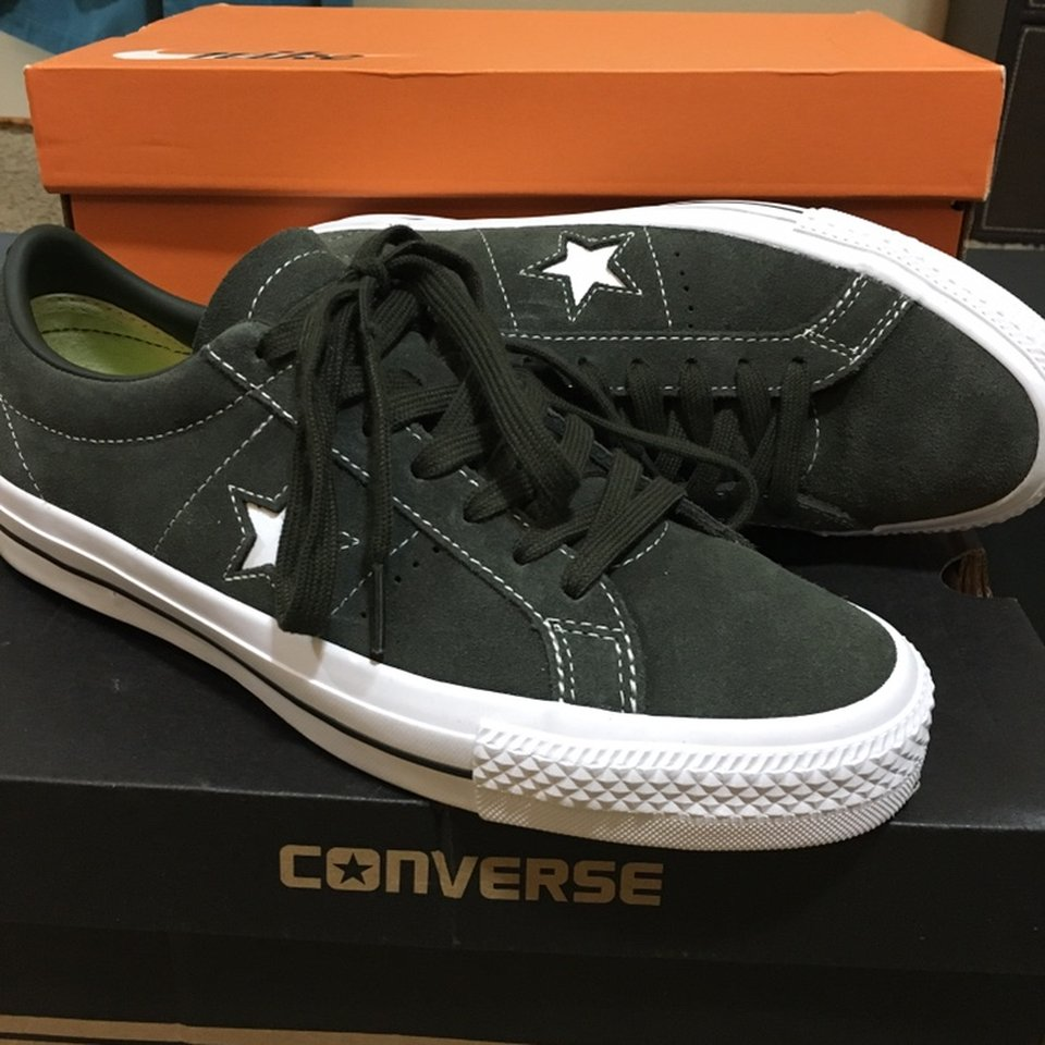 Converse CONS suede green One Stars w